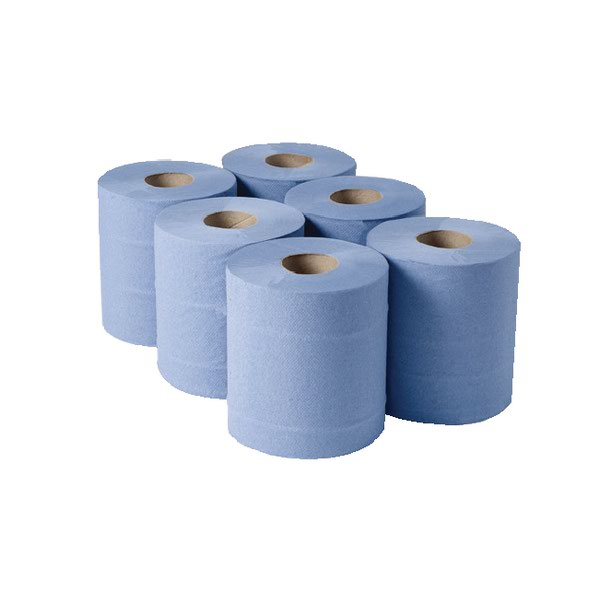 Compare retail prices of 1-Ply Blue Centrefeed Rolls 290mx180mm Pack of 6 CBL290S to get the best deal online