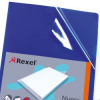 Rexel Nyrex A4 Blue Cut Flush Folder (Pack of 25) 12161BU