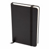 Silvine Executive Soft Feel Notebook 80gsm Ruled with Marker Ribbon 160pp A5 Black Ref 197BK
