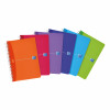 Oxford Office Notebook Poly Wirebound 90gsm Smart Ruled 180pp A5 Assorted Colour Ref 100104780 [Pack 5]