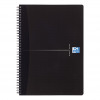 Oxford Office Notebook Wirebound Soft Cover Ruled 180pp 90gsm A4 Smart Black Ref 100102931 [Pack 5]