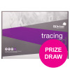 Silvine Professional Tracing Pad Acid Free Paper 90gsm 50 Sheets A2 [COMPETITION]