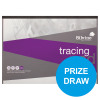 Silvine Professional Tracing Pad Acid Free Paper 90gsm 50 Sheets A3 [COMPETITION]