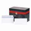 Plus Fabric Envelopes Wallet Peel and Seal 110gsm DL White [Pack 500]