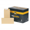 New Guardian Envelopes DL Heavyweight Pocket Peel and Seal 130gsm Manilla Ref E26503 [Pack 500]