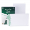 Basildon Bond Envelopes FSC Pocket Recycled Peel & Seal 120gsm C5 229x162mm White Ref B80277 [Pack 50]