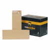 New Guardian Envelopes Heavyweight 305x127mm Pocket Peel and Seal 130gsm Manilla Ref C27603 [Pack 250]