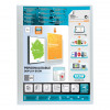 Elba Polyvision Display Book Polypropylene 20 Clear Pockets A4 Clear Ref 100206088