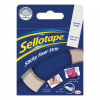Sellotape Sticky Fixer Strip Roll 25mmx3m Ref 1445400