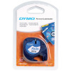 Dymo LetraTag Tape Plastic 12mmx4m Pearl White Ref 91201 S0721610