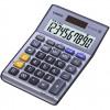 Casio Desktop Calculator 10 Digit 3 Key Memory Battery/Solar Power 103x31.7x145mm Silver Ref MS-100TER II