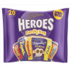 Cadbury Heroes Family Bag 20 Treatsize 278g Ref A03807