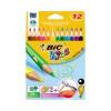 Bic Evolution Colouring Pencils 12 Ast Cols