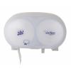 Tork Twin Coreless Toilet Roll Dispenser White 285mmx200mmx180mm 472058