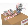 Polypropylene Fragile Tape White/Red 50mmx66m
