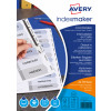 Avery IndexMaker Divider Set Punched A4 10-Part Ref 01812061 L7410-10M