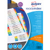 Avery Mylar Readyindex 1-10 Extra Wide Punched 05065501