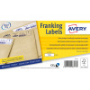 Avery Franking Label 165 x 44mm 1 Per Sheet White (Pack of 1000) FL11