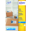 Avery Inkjet Parcel Labels 2 Per Sheet White (Pack of 50) J8168-25