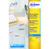 Avery Mini Multipurpose Labels Inkjet 40 per Sheet 45.7x25.4mm White Ref J8654-25 [1000 Labels]