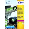 Avery Heavy Duty Labels Laser 24 per Sheet 63.5x33.9mm White Ref L4773-20 [480 Labels]