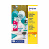 Avery Removable Labels Round 63.5mm White (Pack of 200) L4852REV-25