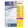 Avery Parcel Labels BlockOut Laser Jam-free 8 per Sheet 99.1x67.7mm White Ref L7165-40 [320 Labels]