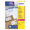 Avery Ultragrip Laser Labels 199.6x143.5mm Wht (Pack of 500) L7168-250