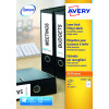 Avery Ring Binder Label 25 Sheet 100mm x 30mm L7172