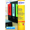 Avery Inkj L/Arch Filing Labels 4 Per Sheet Wht (Pack of 100) J8171-25