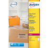 Avery Clear Parcel Labels 199.6x143.5 Pack 50