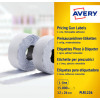 Avery 2-Line Permanent Label 16 x 26mm White (Pack of 12000) WP1626