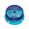 Verbatim DataLife 80min 52x Speed CD-R with Non-Printable Surface (Retail Spindle of 25) 43432