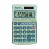 Sharp EL-240SB 8 Digit Dual Power Calculator with Large Slanted Display and Tab Function