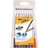 Bic Velleda Marker Whiteboard Dry-wipe 1721 Fine Bullet Tip 1.5mm Line Assorted Ref 1199005728 [Pack 8]