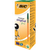 Bic Orange Fine Ballpoint Green Ink Pen (Pack of 20) 1199110113