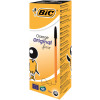 Bic Cristal Orange Biro Fine black