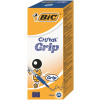 Bic Orange Cristal Grip Ballpoint Pen Blue (Pack of 20) 811926