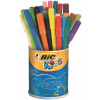 Bic Kids Visa Colouring Felt Tip Pens Fine Assorted (Pack of 36) 829012