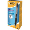 Bic Velocity Gel Rollerball Pen Comfort Grip Retractable Black Ref 820565 [Pack 12] [FREE Matic Grip x4]