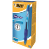 Bic Velocity Gel Rollerball Pen Comfort Grip Retractable Blue Ref 820566 [Pack 12] [FREE Matic Grip x4]