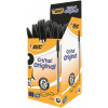 Paper Mate InkJoy 100 Ball Pen Medium 1.0 Tip 0.7mm Line Black Ref S0957120 [Pack 50]