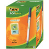 Bic Ecolutions Stic Ball Pen Recycled Slim 1.0mm Tip 0.32mm Line Blue Ref 893240 [Pack 60]