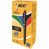 Bic Pro 4 Colours Pro Ballpoint Black Pen /Blue /Green/Red (Pack of 12) 902129