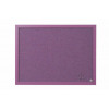 Bi-Silque Lavender Notice Board 600x450mm