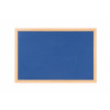 Bi-Office Earth Felt Notice Board 900x600mm Blue RFB0743233