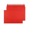 Vibrant Wallet Envelope C4 229x324mm Superseal Pillar Box Red 120gsm Boxed 250