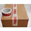 ALPACkAge Printed BOPP Tape FRAGILE 48mm 66m 38mu Red/ White TFP486638 Pk 6