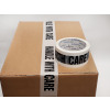 ALPACkAge Printed BOPP Tape HANDLE WITH CARE 48mm 66m 38mu Black/ White THP486638 Pk 6