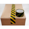 ALPACkAge Printed BOPP Tape HAZARD 50mm 33m 38mu Black/ Yellow THZB503338 Box 36